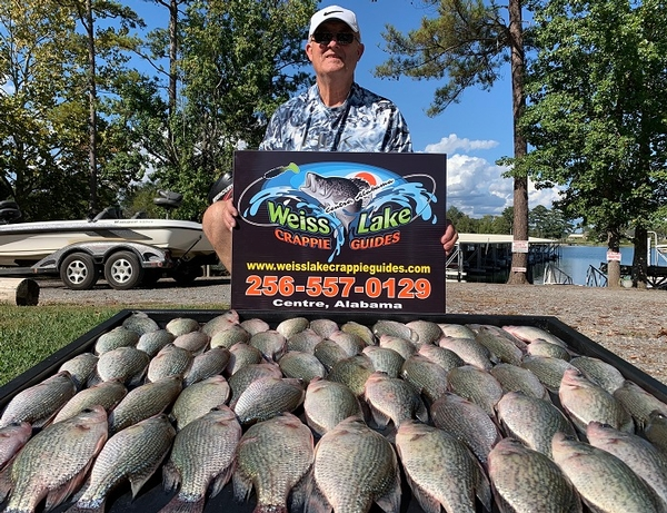 The Fall Crappie Season is underway!