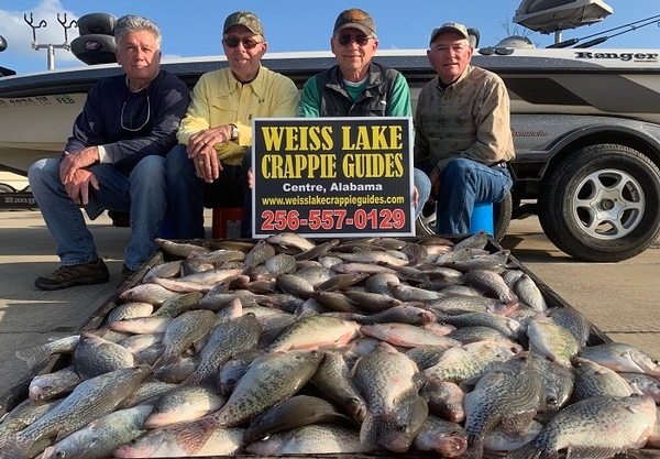 Spring 2020 crappie season is about to get underway!